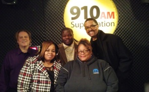 From left: Scotty Boman, Shantell Bradley, Willie Burton, Kwajalyn Bradley & Greg Dunmore.