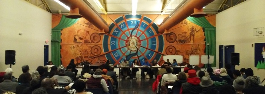 Charter Commission Meeting in South-West Detroit